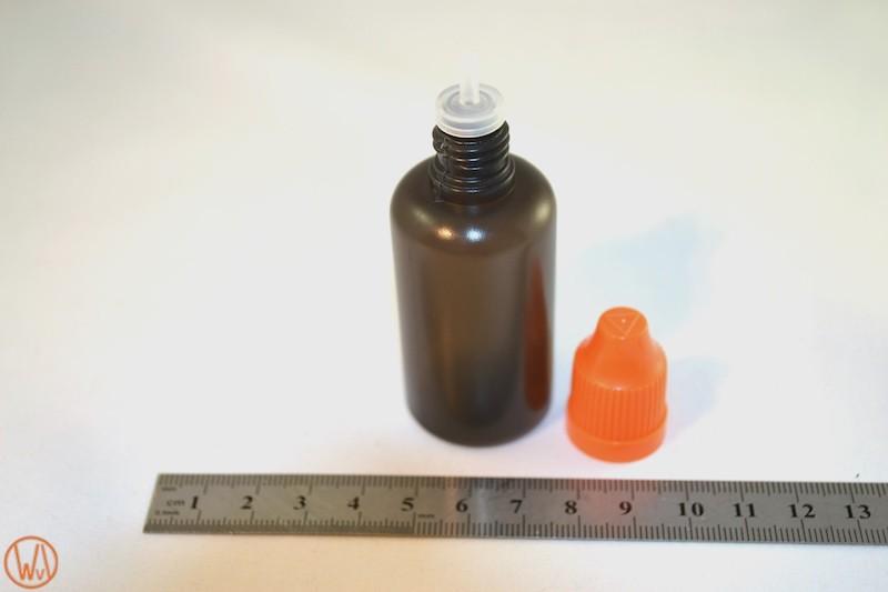 30 ml Tropf-Flasche PET in schwarz ( transluzent )