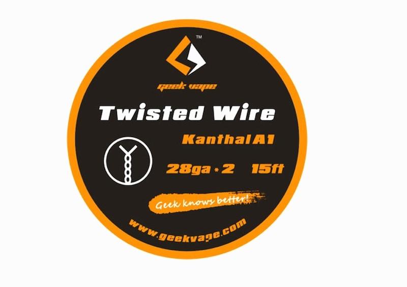 GeekVape twisted DIY Kanthal Draht 5m