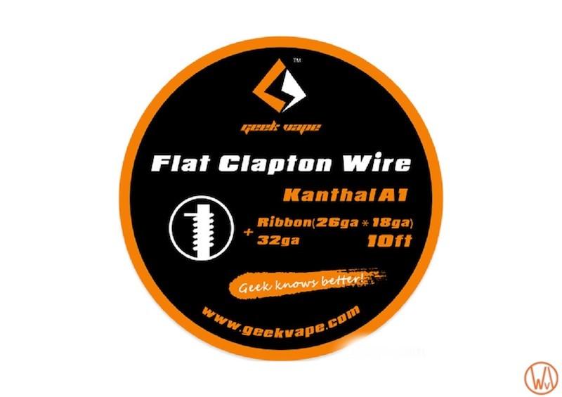 GeekVape Flat Kanthal A1 Draht 26GA 3m