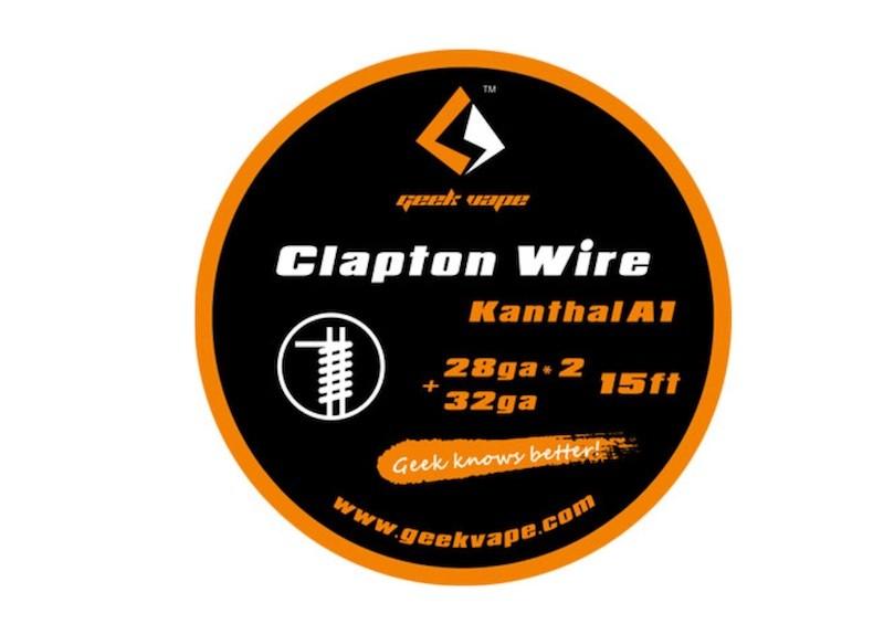 GeekVape Clapton DIY Kanthal KA1 Draht 5m