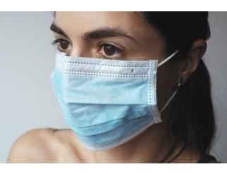1a Mundschutz Hygiene Maske mit Ohrschlaufen 50er Pack