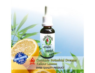 Merlin's Garden Cannabis Botanical Dreams Yellow Lemon 30ml