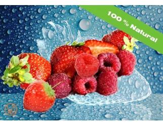 WvA Gourmet Liquids Erdbeer Himbeer 100% Natural VG 60ml