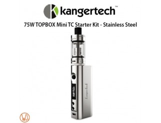 KangerTech Topbox Mini TC Set Stainless Steel